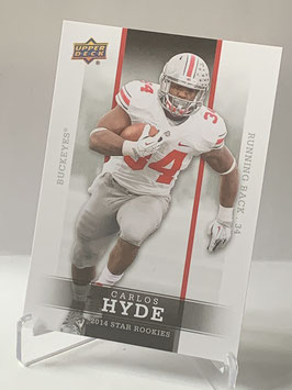 Carlos Hyde (Ohio State/ 49ers) 2014 Upper Deck Star Rookies #7
