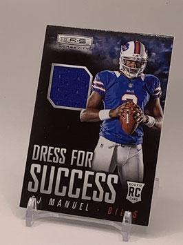 EJ Manuel (Bills) 2013 Rookies & Stars Dress for Success #8