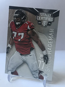 Ra'Shede Hageman (Falcons) 2014 Panini Totally Certified #105