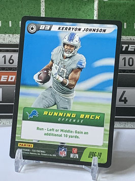 Kerryon Johnson (Lions) 2019 FIVE TCG #U96