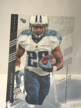 Bishop Sankey (Titans) 2015 Panini Clear Vision #79