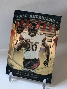 Rashaad Penny (San Diego State/ Seahawks) 2019 Prizm Draft Picks All Americans #90