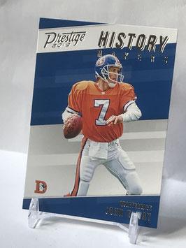 John Elway (Broncos) 2019 Prestige History Makers #HM-JE