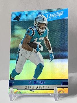 DJ Moore (Panthers) 2019 Prestige Xtra Points Blue #140