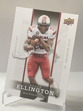 Bruce Ellington (South Carolina/ 49ers) 2014 Upper Deck Star Rookies #24
