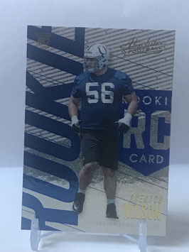 Quenton Nelson (Colts) 2018 Panini Absolute Spectrum Blue #147