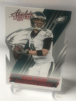 Nick Foles (Eagles) 2014 Absolute Retail Red #50