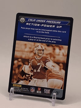 Action Power Up: Josh Allen (Bills) 2020 Panini Five TCG #C97