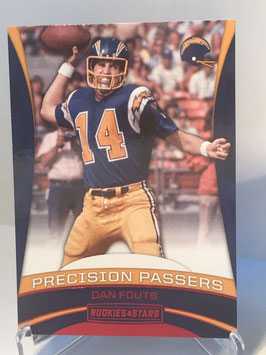 Dan Fouts (Chargers) 2017 Panini Rookies & Stars Precision Passing #8