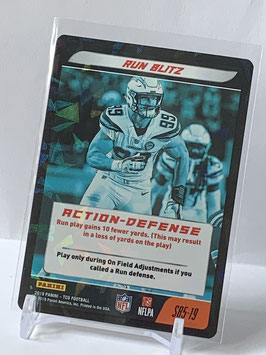 Action Defense: Joey Bosa (Chargers) 2019 Panini Five TCG Foil #S85