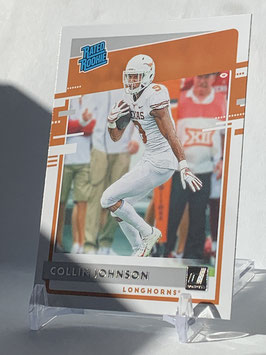 Collin Johnson (Texas/ Jaguars) 2020 Chronicles Draft Picks Rated Rookie #13