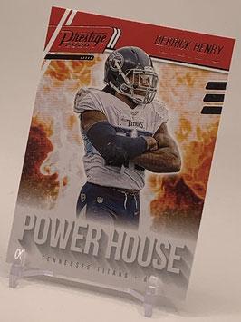 Derrick Henry (Titans) 2020 Prestige Power House #PH-DH
