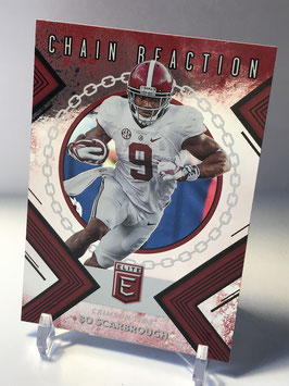 Bo Scarbrough (Alabama/ Cowboys) 2018 Panini Elite Draft Picks Chain Reaction #5