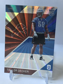 Taylor Decker (Lions) 2016 Panini Unparalleled #195