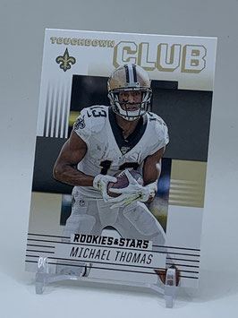 Michael Thomas (Saints) 2020 Rookies & Stars Touchdown Club #TC-9