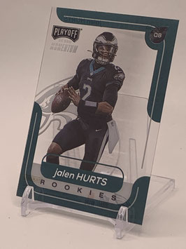 Jalen Hurts (Eagles) 2020 Panini Chronicles Playoff Momentum #M-18