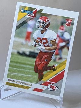 Juan Thornhill (Chiefs) 2019 Donruss #280