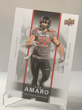 Jace Amaro (Texas Tech/ Jets) 2014 Upper Deck Star Rookies #38