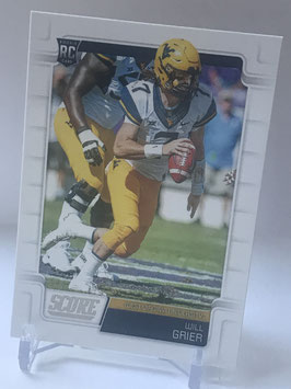 Will Grier (West Virginia/ Panthers) 2019 Score #333