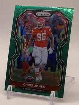 Chris Jones (Chiefs) 2020 Prizm Green Prizm #125