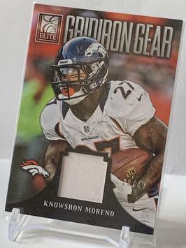 Knowshon Moreno (Broncos) 2013 Elite Gridiron Gear Prime #14