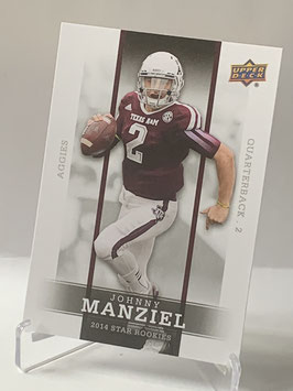 Johnny Manziel (Texas A&M/ Browns) 2014 Upper Deck Star Rookies #1
