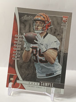 Drew Sample (Bengals) 2019 Absolute #180
