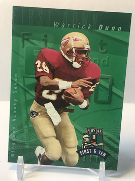 Warrick Dunn (Florida State/ Buccaneers) 1997 Playoff First & Ten #31