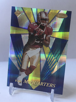RW McQuarters (49ers) 1998 Collector's Edge Masters Rookie Masters #RM29