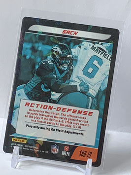 Action Defense: Von Miller (Broncos) 2019 Panini Five TCG Foil #S86