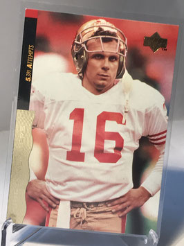 Joe Montana (49ers) 1995 Upper Deck Joe Montana Box Set #37