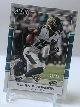 Allen Robinson (Jaguars) 2017 Playoff 2nd. Down #40