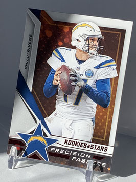 Philip Rivers (Chargers) 2019 Rookies & Stars Precision Passers #PP-PR