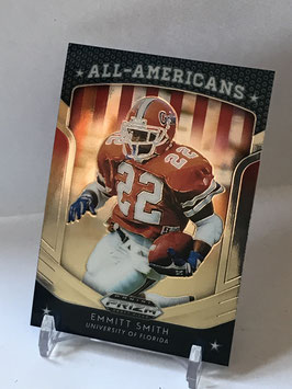 Emmitt Smith (Florida/ Cowboys) 2019 Prizm Draft Picks All Americans #51