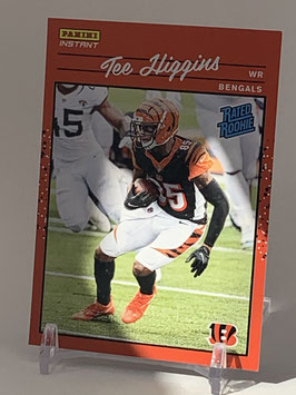 Tee Higgins (Bengals) 2020 Panini Instant Rated Rookie #RR13