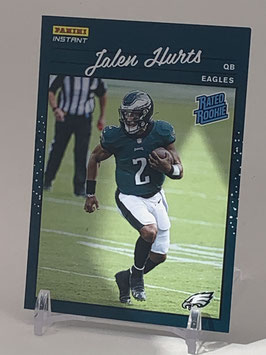 Jalen Hurts (Eagles) 2020 Panini Instant Rated Rookie #RR22