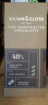 "Schokolade ""Haselnuss"" 48% Kakao 80g"