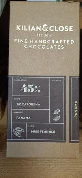 """Schokolade """"Panama"""" 45% Kakao 80g"""