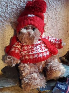 Weicher Winterbär