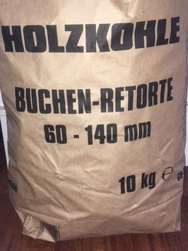 Buchen Holzkohle 10kg