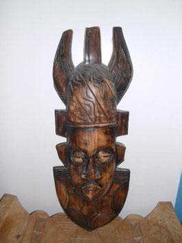 Große Maske aus Ghana