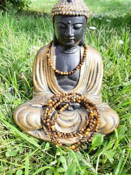 Bracelet en perles d'Œil de tigre 4 mm