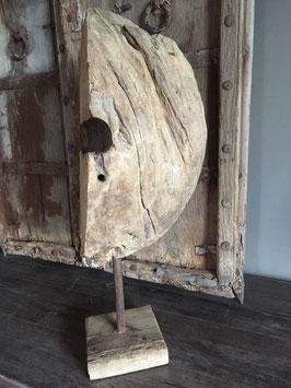 Half houten wiel