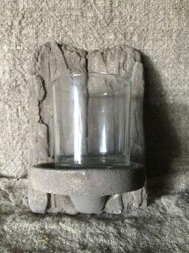 wandkandelaar steen