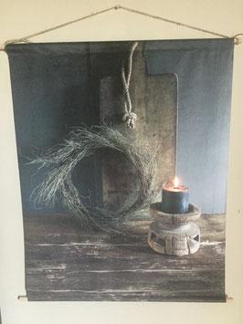 Velours wanddoek
