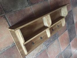 Houten regaal / kapstok oud hout