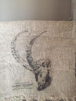 Linnen Shabby doek Steenbok