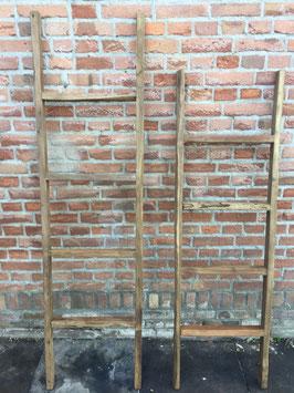 ladder oud hout