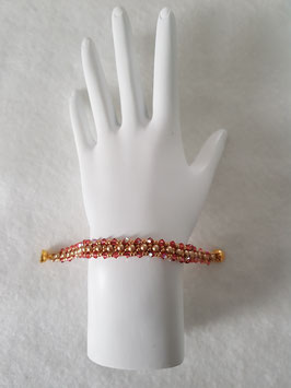 PETITE BELLE IN VINTAGE GOLD AND CORAL