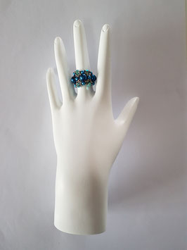 FLIP RING IN SHADES OF BLUE